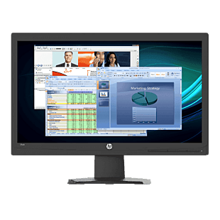 HP 20kh 49.53 cm (19.5) Monitor