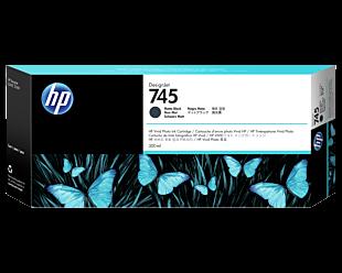 HP 745 300-ml DesignJet Matte Black Ink Cartridge