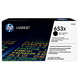 NEW HP CF320X Black Toner Cartridge 653X Genuine