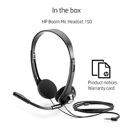 HP Boom Mic Headset 150