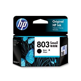 HP 803 Small Black Original Ink Cartridge