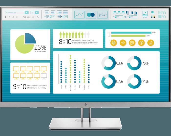 HP EliteDisplay E273 68 58 cm (27) Monitor