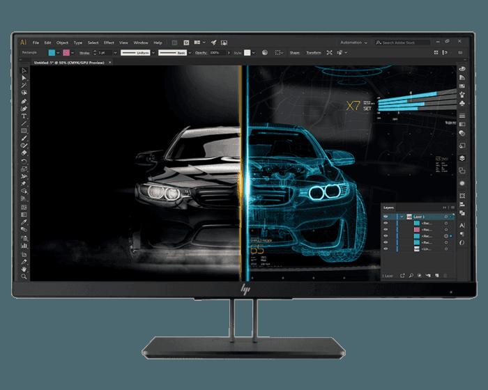 HP Z24nf G2 60.96 CM (23.8) Monitor