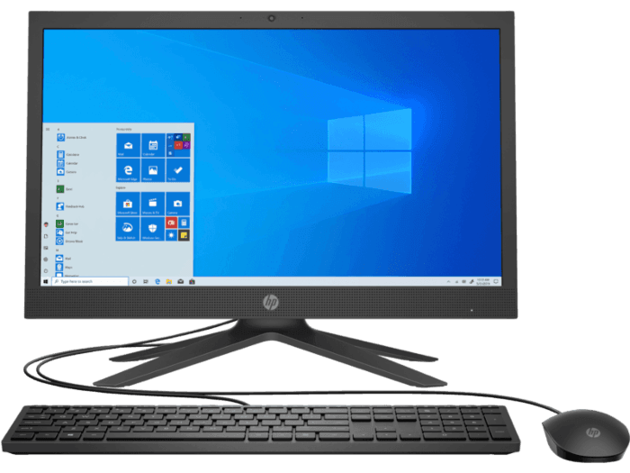 HP All-in-One 21-b0109in Bundle PC