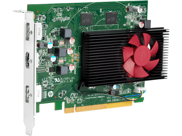 AMD Radeon RX550 4GB 2DP Card
