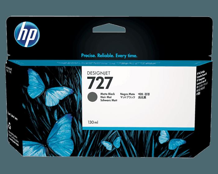 HP 727B 130-ml Matte Black DesignJet Ink Cartridge