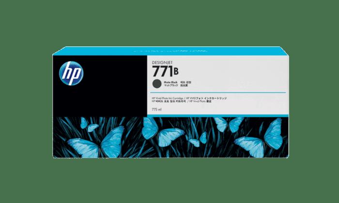 HP 771B 775-ml Matte Black DesignJet Ink Cartridge