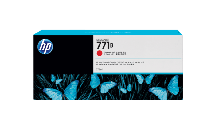 HP 771B 775-ml Chromatic Red DesignJet Ink Cartridge