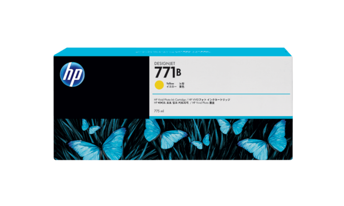 HP 771B 775-ml Yellow DesignJet Ink Cartridge