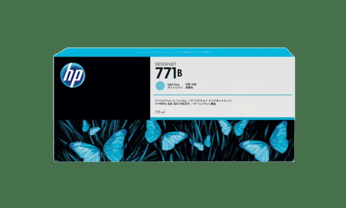 HP 771B 775-ml Light Cyan DesignJet Ink Cartridge