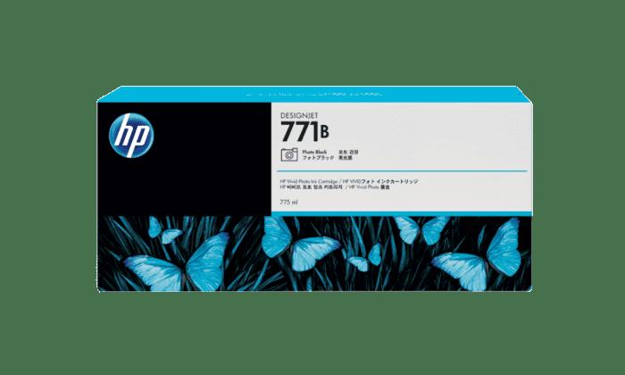HP 771B 775-ml Photo Black DesignJet Ink Cartridge