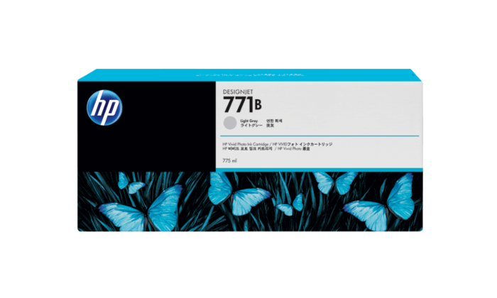 HP 771B 775-ml Light Gray DesignJet Ink Cartridge