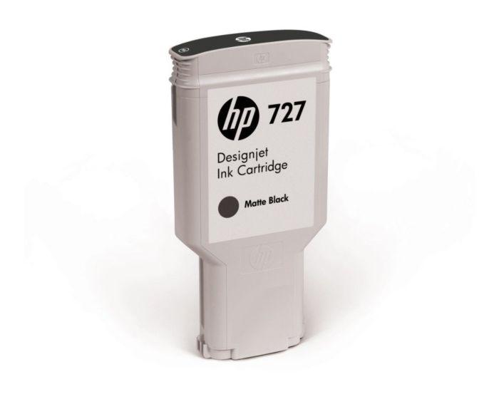 HP 727B 300-ml Matte Black DesignJet Ink Cartridge