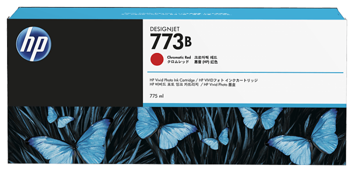 HP 773B 775-ml Chromatic Red DesignJet Ink Cartridge
