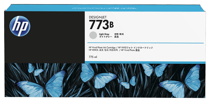 HP 773B 775-ml Light Gray DesignJet Ink Cartridge