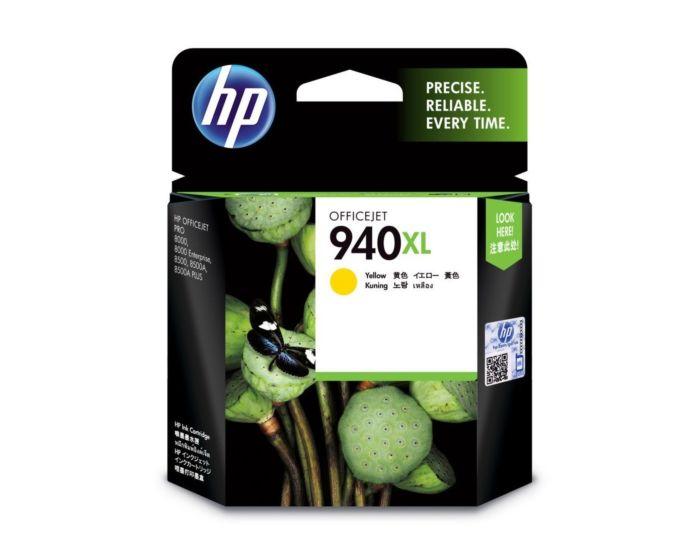 HP 940XL High Yield Yellow Original Ink Cartridge