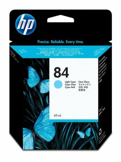 HP 84 69-ml Light Cyan DesignJet Ink Cartridge
