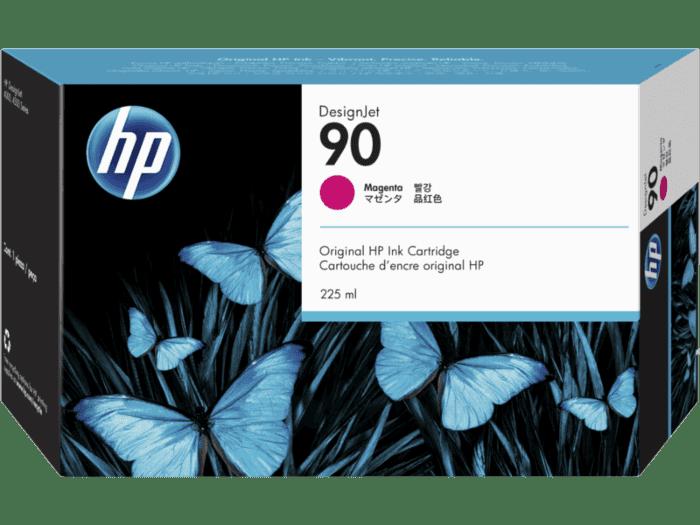 HP 90 225-ml Magenta DesignJet Ink Cartridge