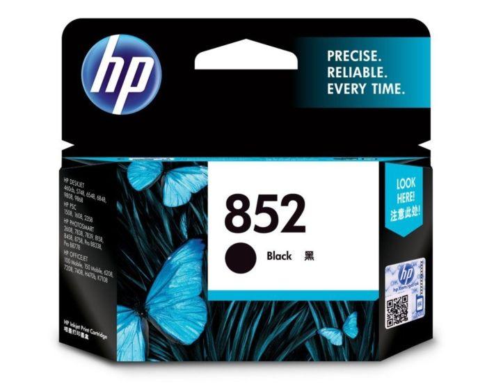 HP 852 Black Original Ink Cartridge