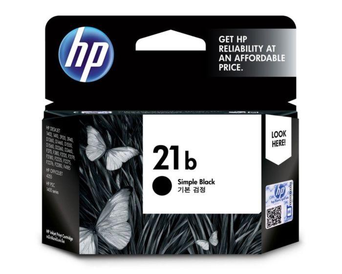 HP 21b Simple Black Original Ink Cartridge