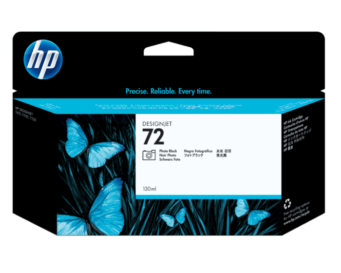 HP 72B 130ml Photo Black DesignJet Ink Cartridge