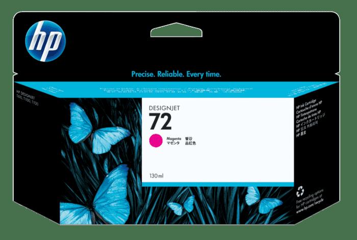 HP 72 130-ml Magenta DesignJet Ink Cartridge