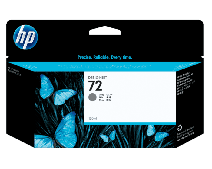 HP 72B 130-ml Gray DesignJet Ink Cartridge