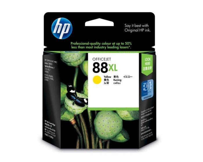 HP 88XL High Yield Yellow Original Ink Cartridge