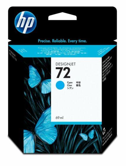 HP 72 69-ml Cyan DesignJet Ink Cartridge