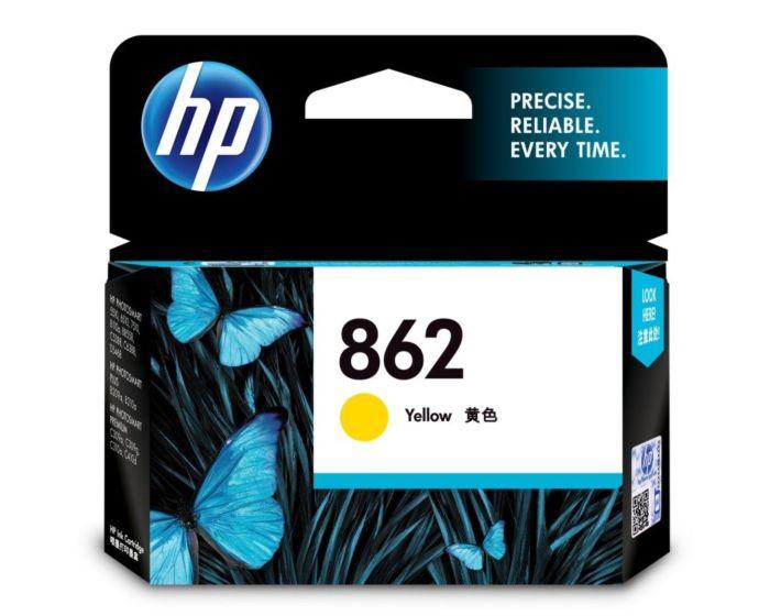 HP 862 Yellow Original Ink Cartridge