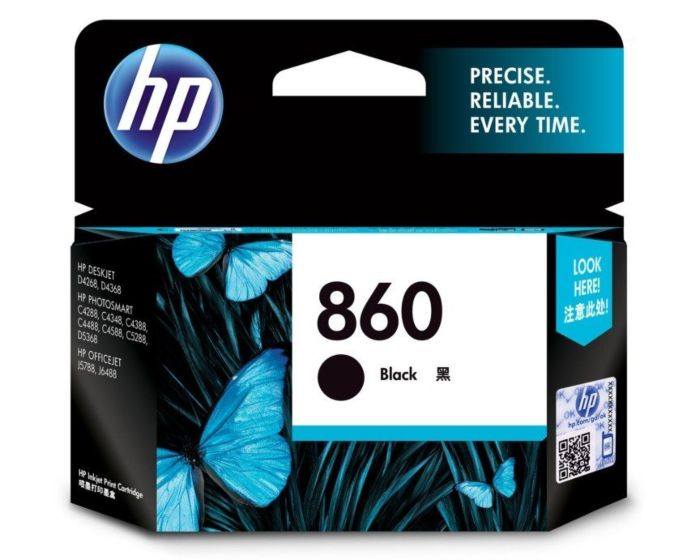 HP 860 Black Original Ink Cartridge