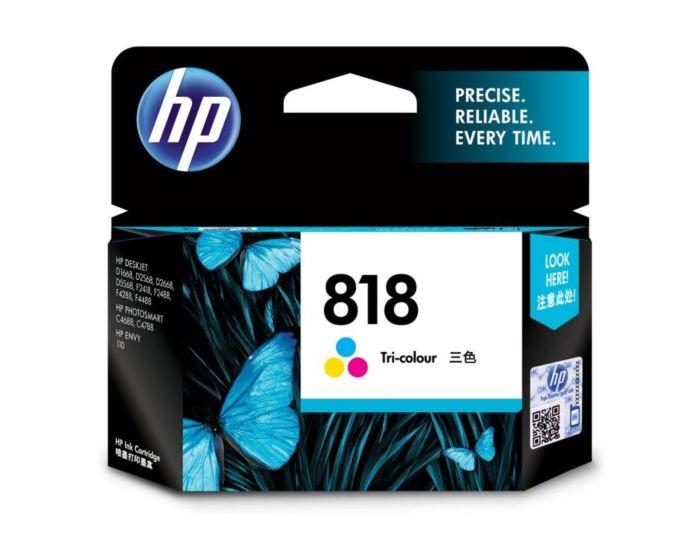 HP 818 Tri-color Original Ink Cartridge