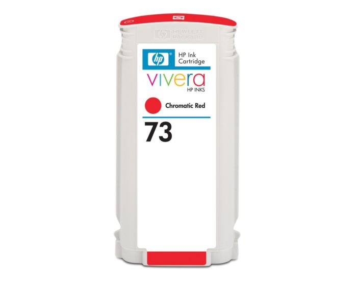 HP 73 130-ml Chromatic Red DesignJet Ink Cartridge