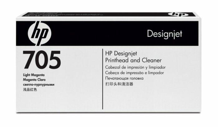HP 705 Light Magenta DesignJet Printhead and Printhead Cleaner
