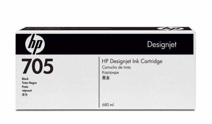 HP 705 680-ml Black DesignJet Ink Cartridge