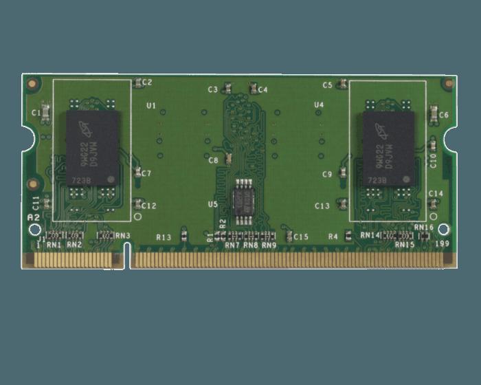HP 512 MB DDR2 200-pin x32 DIMM