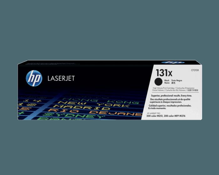 HP 131X High Yield Black Original LaserJet Toner Cartridge
