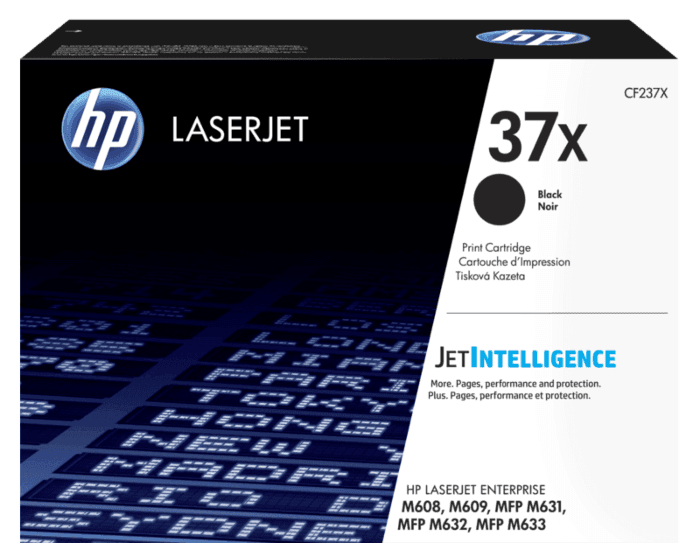 HP 37X High Yield Black Original LaserJet Toner Cartridge