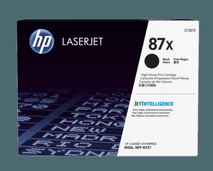 HP 87X High Yield Black Original LaserJet Toner Cartridge