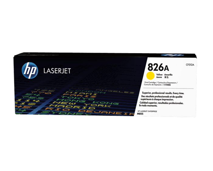 HP 826A Yellow Original LaserJet Toner Cartridge