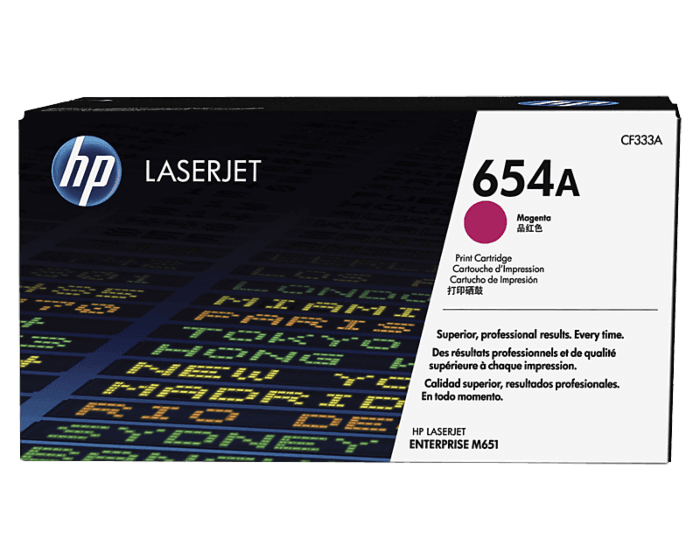 HP 654A Magenta Original LaserJet Toner Cartridge