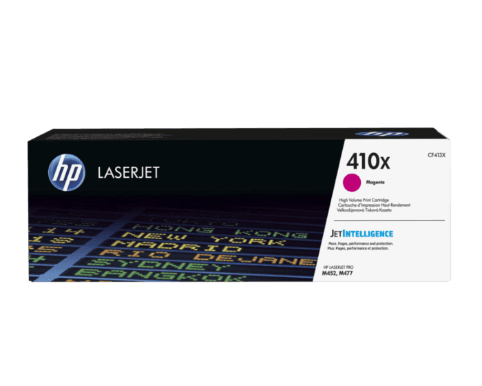 HP 410X High Yield Magenta Original LaserJet Toner Cartridge