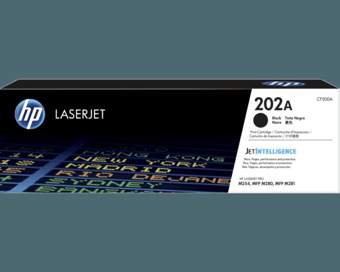 HP 202A Black Original LaserJet Toner Cartridge