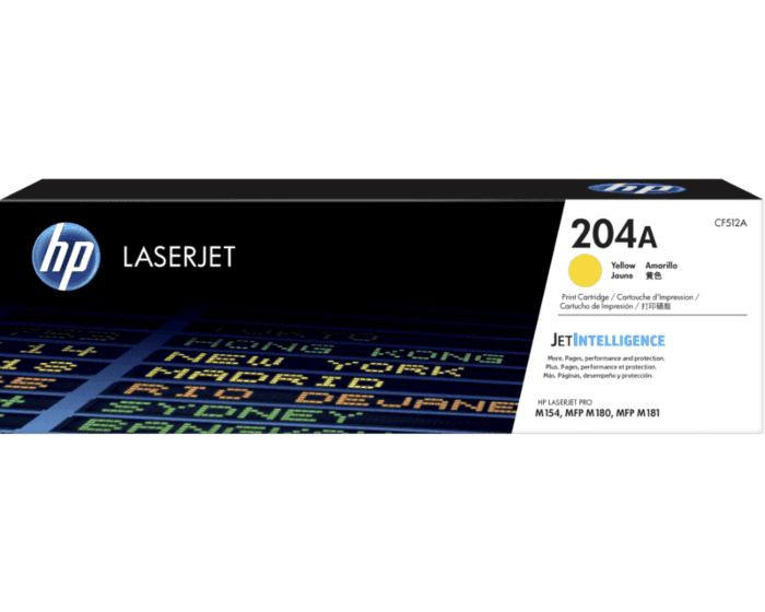 HP 204A Yellow Original LaserJet Toner Cartridge