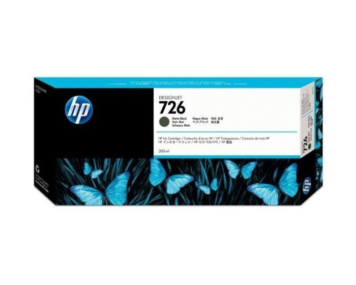HP 726B 300-ml Matte Black DesignJet Ink Cartridge