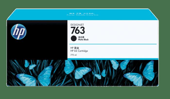 HP 763 775-ml Matte Black DesignJet Ink Cartridge