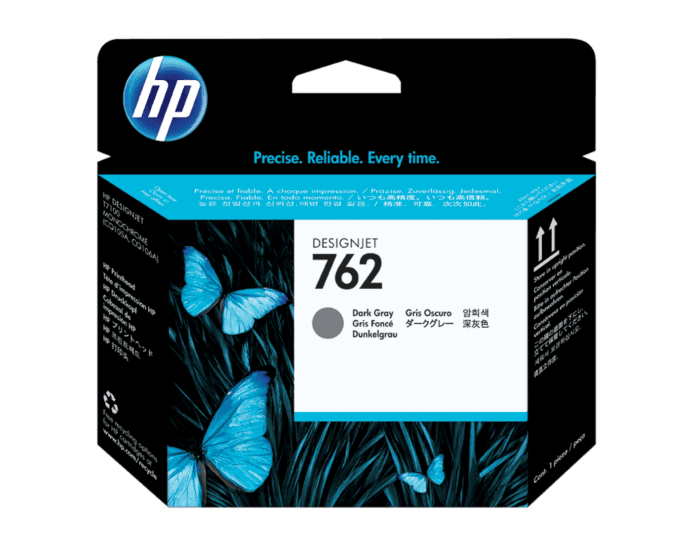 HP 762 Dark Gray DesignJet Printhead