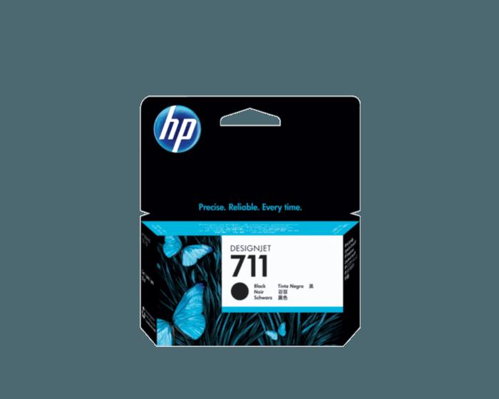 HP 711B 38-ml Black DesignJet Ink Cartridge