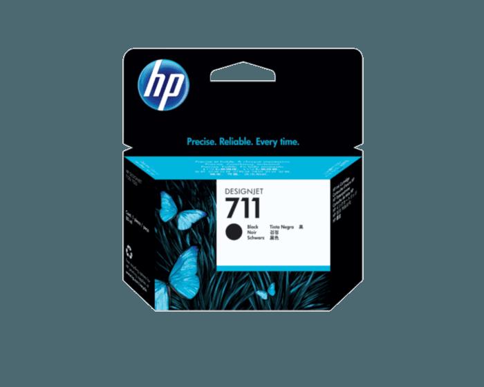 HP 711B 80-ml Black DesignJet Ink Cartridge