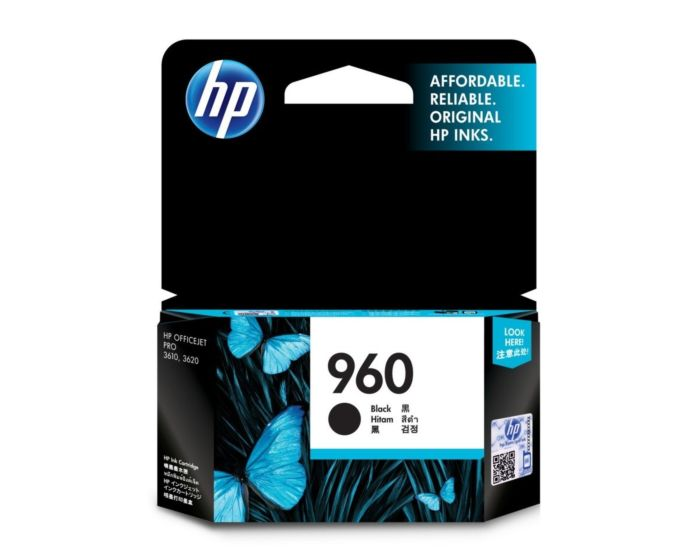 HP 960 Black Original Ink Cartridge